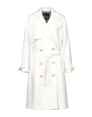 Пальто 8PM. Цвет: белый