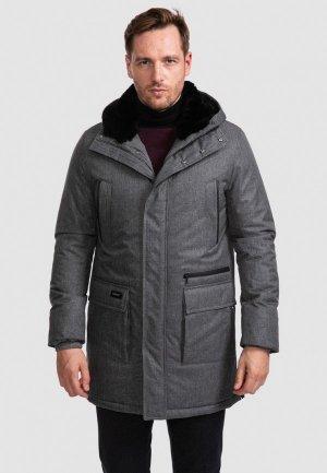 Куртка утепленная Kanzler. Цвет: серый