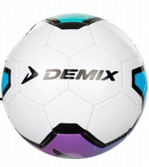 Мяч футбольный мини Demix. Цвет: белый