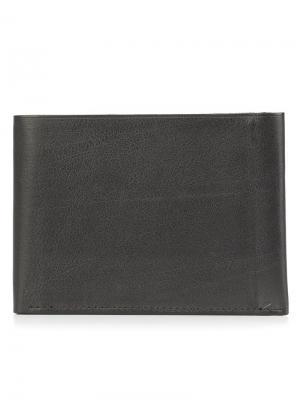 Классический бумажник Isaac Reina. Цвет: чёрный
