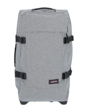 Чемодан/сумка на колесиках EASTPAK. Цвет: серый