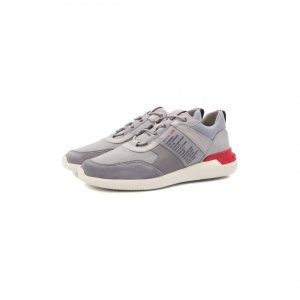 Комбинированные кроссовки No Code Tod's. Цвет: серый