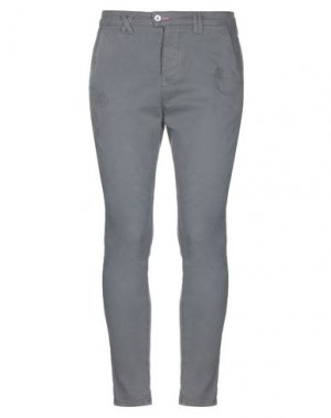 Повседневные брюки JCOLOR. Цвет: свинцово-серый