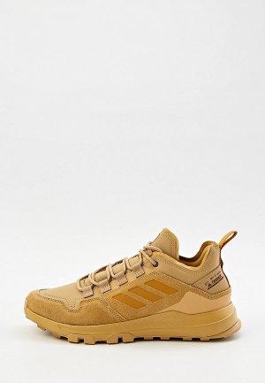 Кроссовки adidas TERREX HIKSTER LEA. Цвет: коричневый