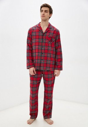 Пижама Begood Courchevel. Цвет: красный