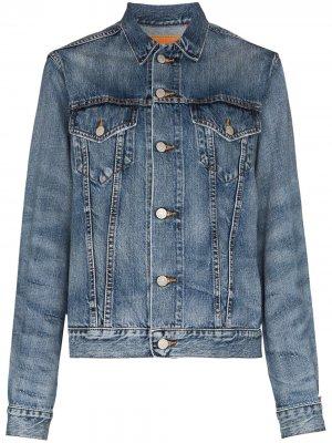 Джинсовая куртка Agnes Denimist. Цвет: синий