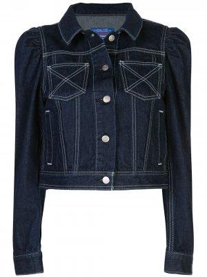 X Chloë Sevigny cropped denim jacket Opening Ceremony. Цвет: синий