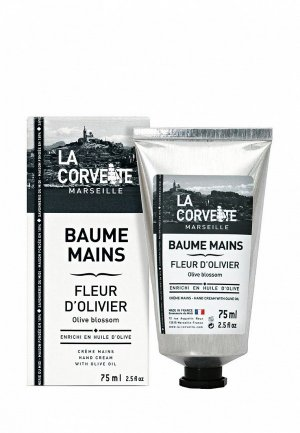 Крем для рук La Corvette 75 мл. Цвет: белый