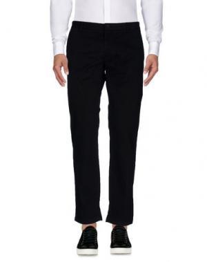 Повседневные брюки BASIC. Цвет: черный