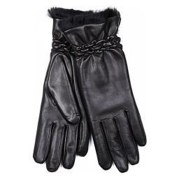Перчатки 11/238/AGN/L черный AGNELLE