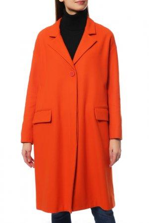 Пальто Bikkembergs. Цвет: оранжевый