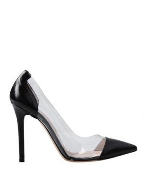 Туфли ALBERTO BRESSAN. Цвет: черный