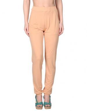 Пляжные брюки и шорты TWINSET. Цвет: абрикосовый
