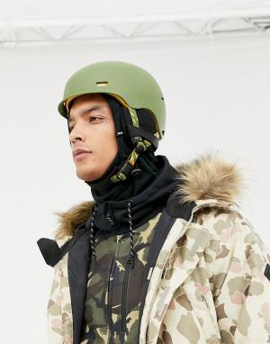Зеленый шлем горнолыжника Highwire Anon. Цвет: зеленый
