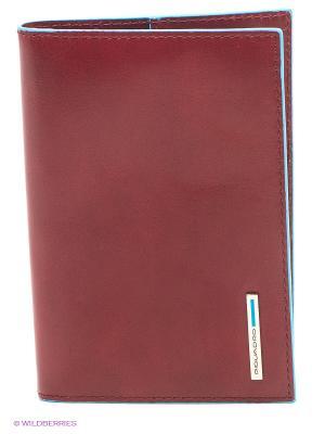 Обложка для паспорта PIQUADRO. Цвет: красный