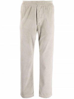 Вельветовые брюки прямого кроя Barena. Цвет: нейтральные цвета