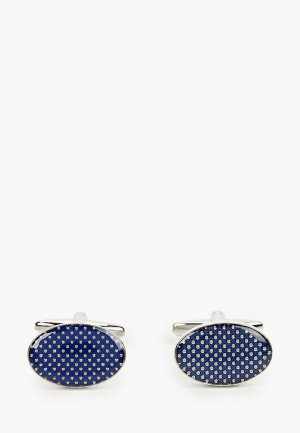 Запонки Franco Frego. Цвет: синий