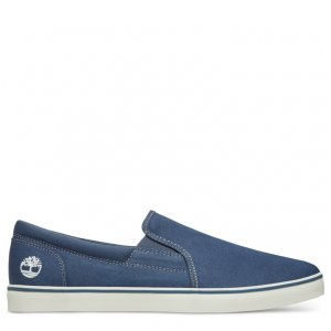 Полукеды Skape Park Canvas Slip-On Timberland. Цвет: синий