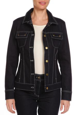 Куртка джинсовая Lamazi. Цвет: синий