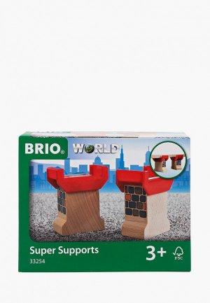 Конструктор Brio опоры для мостов. Цвет: разноцветный