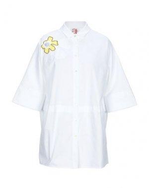 Pубашка ATINSIGHT by ANDREA TURCHI. Цвет: белый