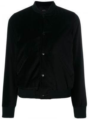 Куртка Norma A.P.C.. Цвет: чёрный