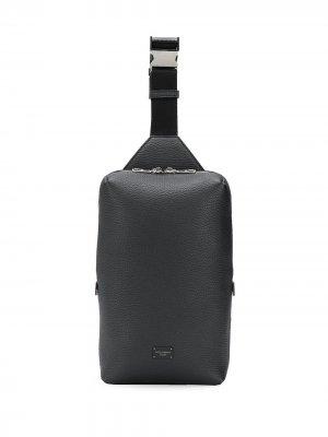 Поясная сумка Dolce & Gabbana. Цвет: черный