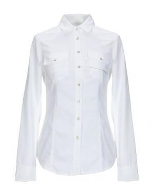 Pубашка CARE LABEL. Цвет: белый