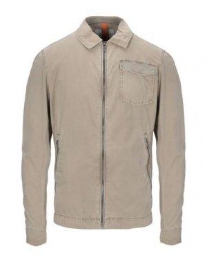 Куртка HAMAKI-HO. Цвет: хаки