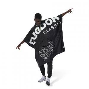 Пончо Classics Reebok. Цвет: black