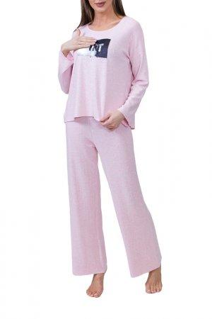Комплект с брюками Catherines Catherine's. Цвет: розовый