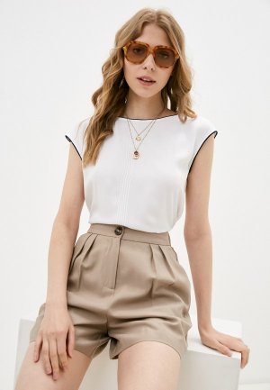 Блуза Tatuum. Цвет: белый