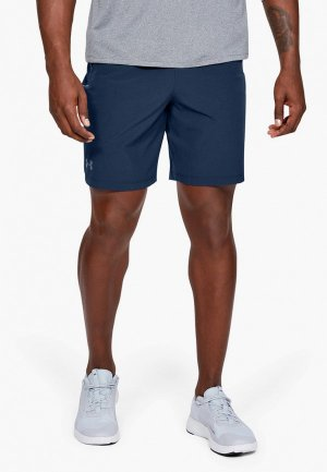 Шорты спортивные Under Armour UA Qualifier WG Perf Shorts. Цвет: синий
