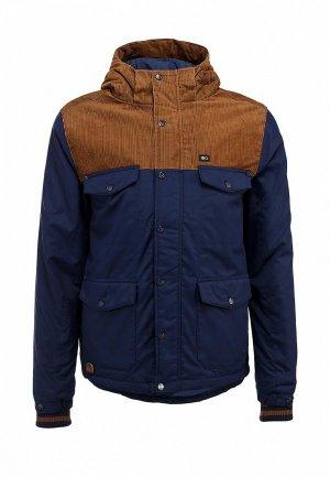 Куртка утепленная K1X urban hooded fullzip mk6. Цвет: синий