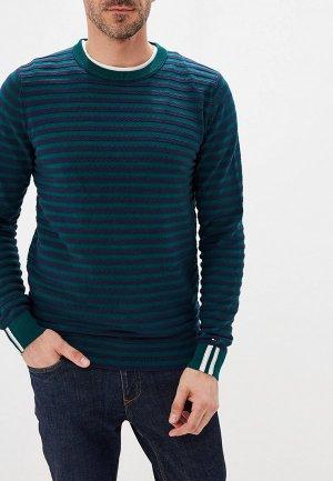 Джемпер Tommy Hilfiger. Цвет: зеленый