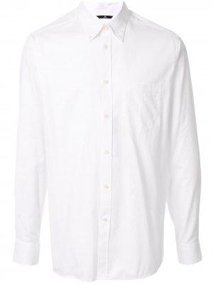 Классическая рубашка J.Lindeberg. Цвет: белый