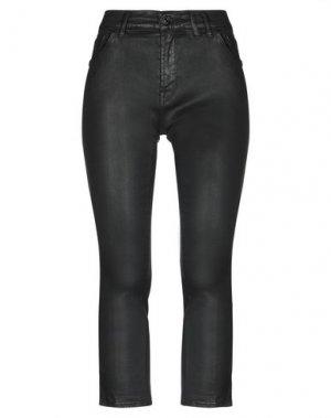 Джинсовые брюки-капри 7 FOR ALL MANKIND. Цвет: черный