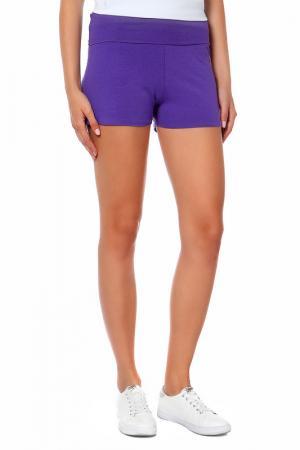 Шорты American Apparel. Цвет: фиолетовый