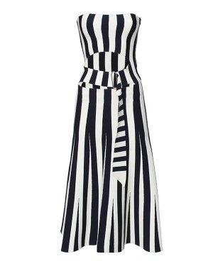 Платье 116111S16 xs черный+белый Alexander Wang. Цвет: черный+белый