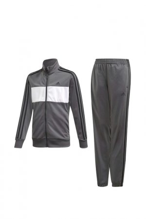 Костюм Adidas YB TS TIBERIO. Цвет: серый