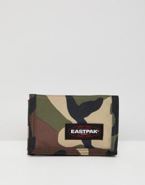 Камуфляжный бумажник Eastpak. Цвет: мульти