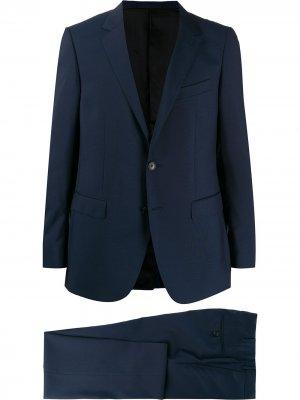 Строгий костюм-двойка LANVIN. Цвет: синий