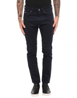 Повседневные брюки GAS. Цвет: темно-синий