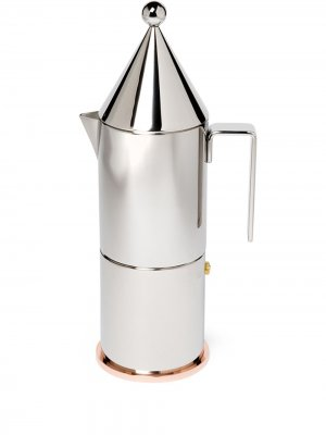 Кофеварка La Conica Alessi. Цвет: серебристый