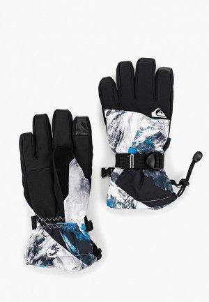 Перчатки горнолыжные Quiksilver MISSION YOU GL B GLOV. Цвет: черный