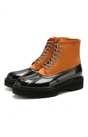 Кожаные ботинки Givenchy. Цвет: разноцветный