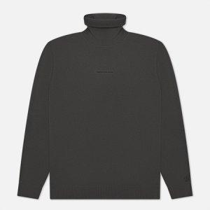 Мужская водолазка Micro Branding Roll Neck Calvin Klein Jeans. Цвет: серый