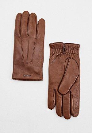 Перчатки Coach. Цвет: коричневый