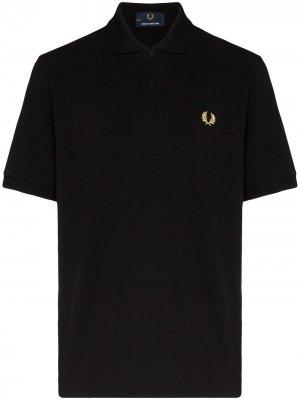 Рубашка-поло Made in England Fred Perry. Цвет: черный