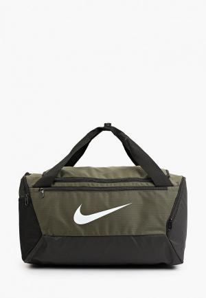 Сумка спортивная Nike NK BRSLA S DUFF - 9.0 (41L). Цвет: хаки